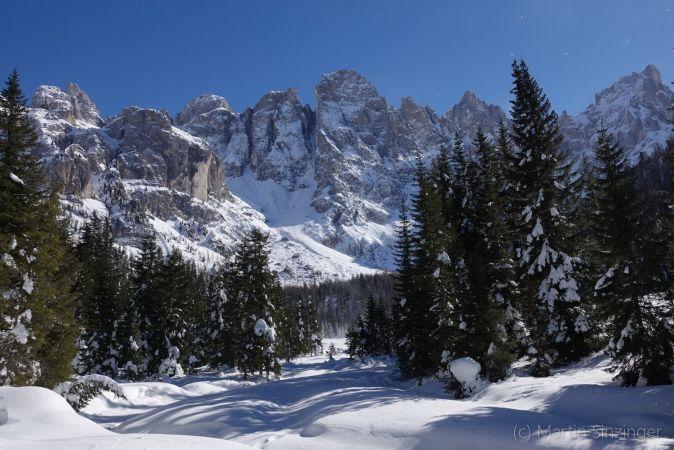 Winter in den Dolomiten, Pala-Gruppe, Martin und Ulrike Sinzinger: Naturerlebnis Wanderreisen