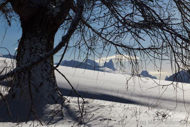 Wintertraum unterm Rosengarten